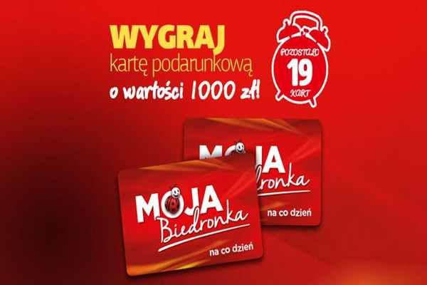 Promocja Biedronka Stronie Śląskie  konkurs moja Biedronka