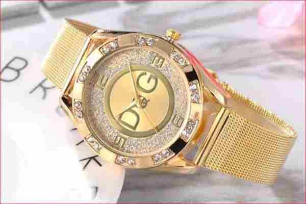 Złoty zegarek Damski Lubań  za 9 zł Kup teraz