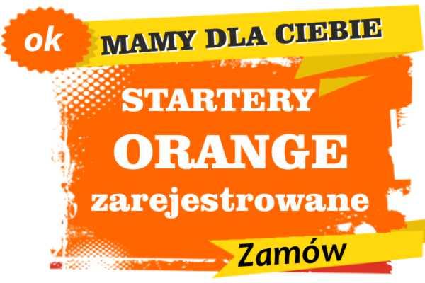 Sprzedam zarejestrowane karty sim orange Sędziszów Małopolski  zadzwoń 887 332 665